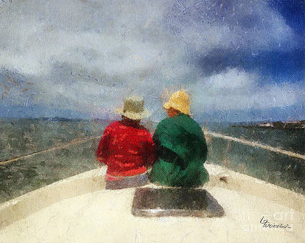 Sea Breeze 4 on the Bay by Linda Weinstock