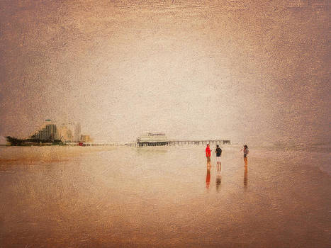 Sea Chat by Saibal Ghosh