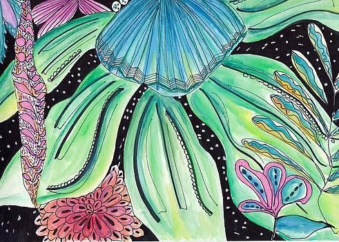 Sea flora by Rosalina Bojadschijew