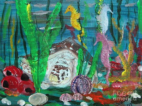 Sea Friends by Susan Snow Voidets