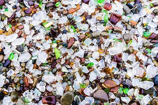 Priya Ghose - Sea Glass Treasures At Glass Beach