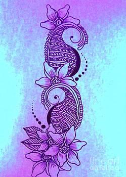 Sea Henna Mehndi  by Jessica Petty