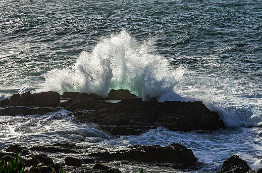 Alexandre Martins - Sea Hitting The Rocks I