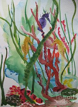 Sea Horses by Susan Voidets