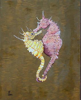 Sea Horses by Yabette Swank