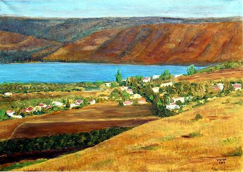sea of Galilee by Hannah Baruchi