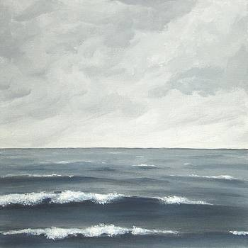 Sea on a Grey Day by Anna Bronwyn Foley