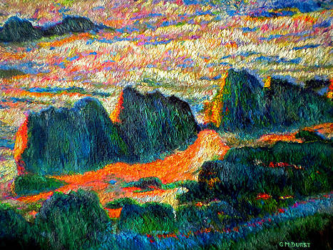 Michael Durst - Sea Point Rocks