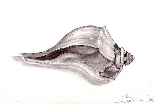 Sea Shell 3 by Joyce Blank