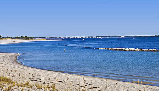 Sea Side Area by Susan Leggett