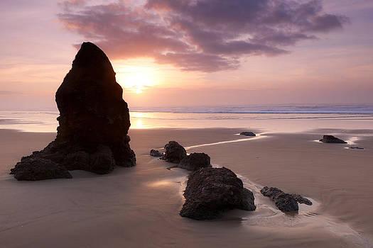 Sea Stack Sunset by Andrew Kumler
