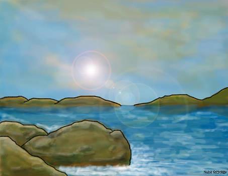 Sea Sun by Nabil REJAIBI