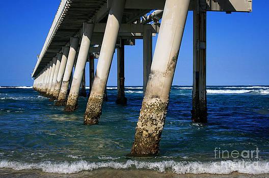 Sea Through Pier by Sarah Sutherland