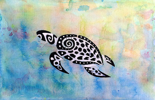 Sea Turtle 3 by Jill English