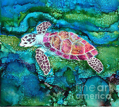Sea Turtle by Alene Sirott-Cope