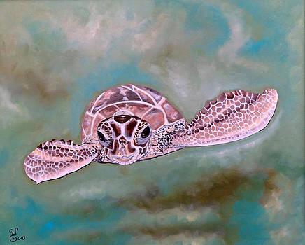 Sea Turtle by Yabette Swank
