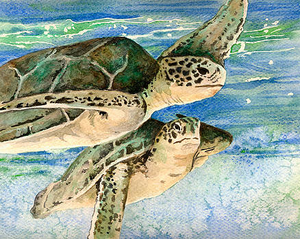 Sea Turtles by Aprille Lipton