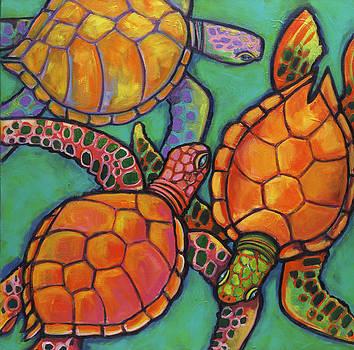 Sea Turtles by Ilene Richard