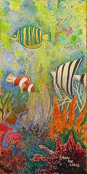 Sea world by Mary Ann Leake