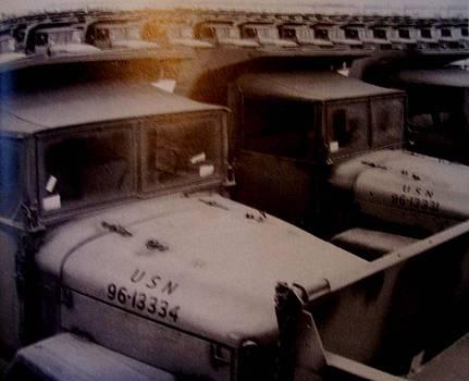Seabee Truck Pool by De Beall