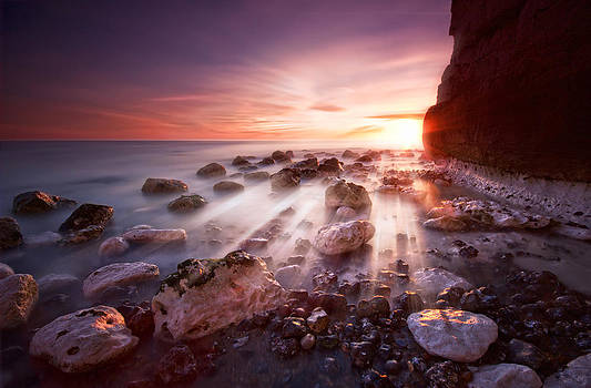 Seaford sunbeams by Mark Leader
