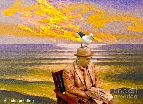 Algirdas Lukas - Seagull man 6