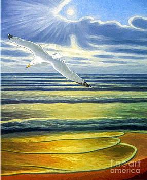 Algirdas Lukas - Seagull over Sea