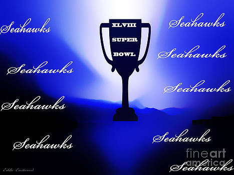 Seahawks Super Bowl Champions by Eddie Eastwood