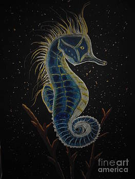 Seahorse by Ginny Youngblood