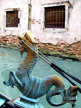 Seahorse in Venice by Jennie Breeze