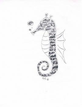 Seahorse  by Kali Kardsbykali