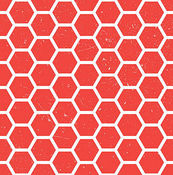 Seamless Hexagonal Pattern by Mike Taylor