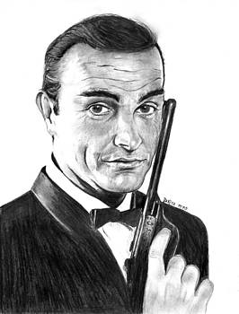 Sean Connery by Mick ODay
