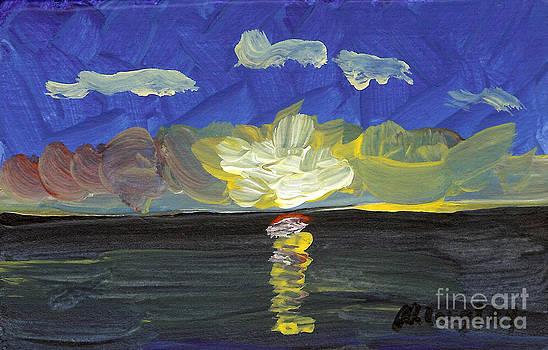 Seascape 10 by Helena M Langley