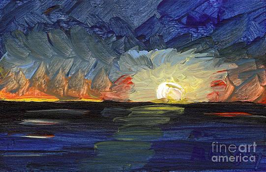 Seascape 11 by Helena M Langley