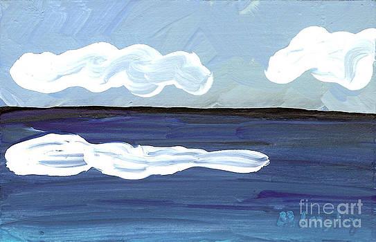 Seascape 22 by Helena M Langley