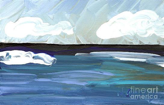 Seascape 23 by Helena M Langley