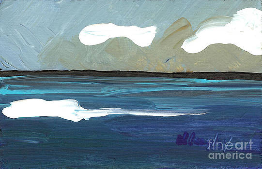 Seascape 26 by Helena M Langley