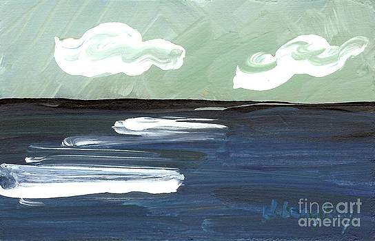 Seascape 27 by Helena M Langley