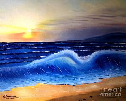 Seascape Wave by Barbara Pelizzoli