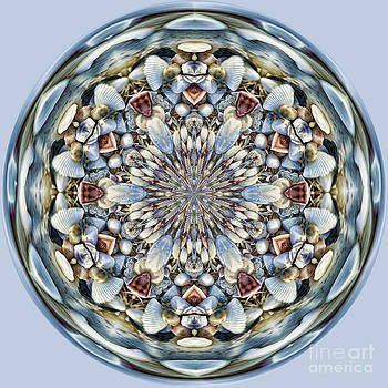 SeaShell Orb by Cindi Ressler