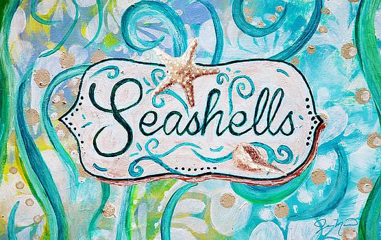 Seashells III by Jan Marvin
