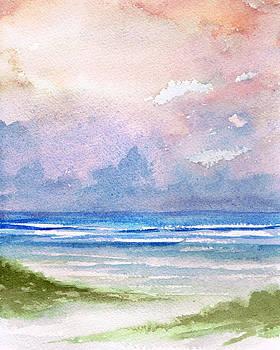 Seashore Sunset by Rosie Brown