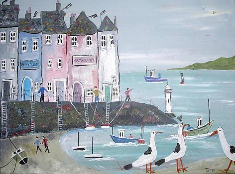 Seaside Houses by Trudy Kepke