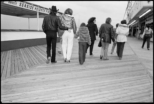 Seaside NJ Back Pocket by David Riccardi