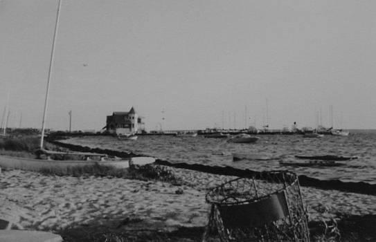 Seaside Park NJ Yacht Club BW by Joann Renner