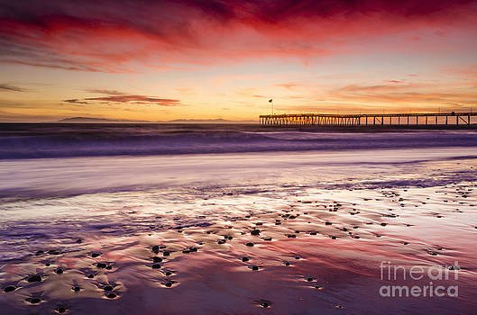 Reflections in the Sand by Russ Bishop