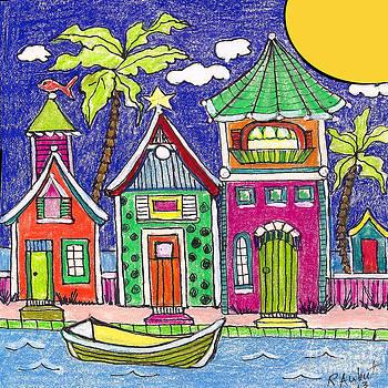 Seaside Villas by Rosemary Aubut