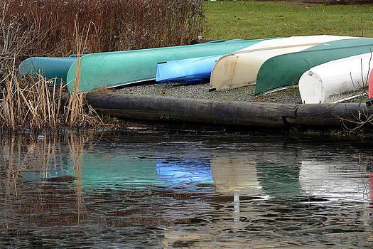 Nicki Bennett - Season Resting Canoes