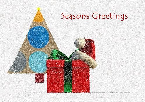 Seasons Greeting  by Dave Hrusecky